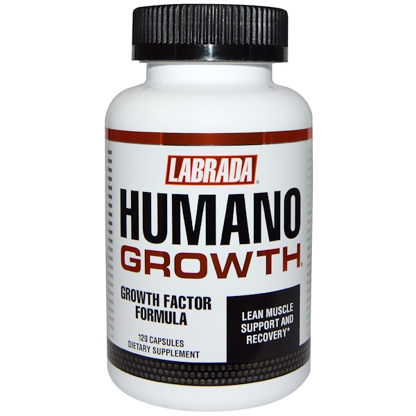 Labrada Nutrition, HumanoGrowth, 120 капсул