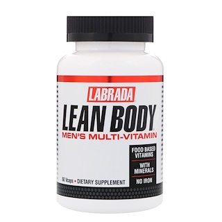 Labrada Nutrition, Lean Body Men's Multivitamin, 60 Vcaps