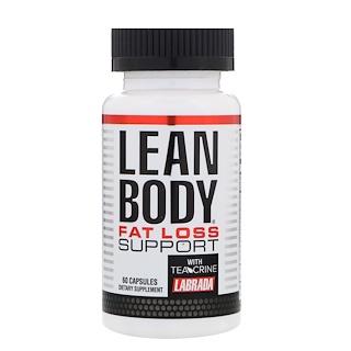 Labrada Nutrition, Corpo Enxuto Suporte para Perda de Peso, 60 Cápsulas