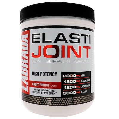 Фото - ElastiJoint, формула для поддержки суставов со вкусом фруктового пунша, 384 г (13,54 унции) pre workout explosion ripped со вкусом арбуза 168г 5 91унции