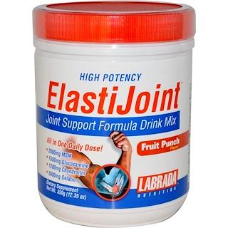 Labrada Nutrition, ElastiJoint, Joint Support Formula Dink Mix, Fruit Punch Flavor, 12.35 oz (350 g)