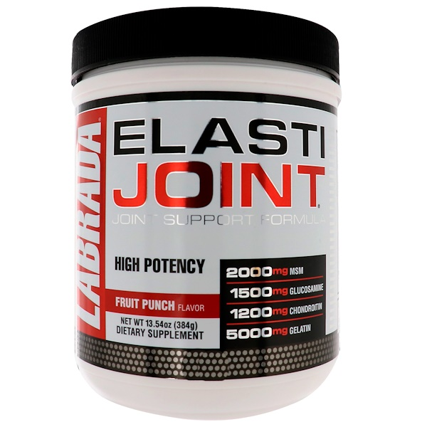 ElastiJoint, Joint Support Formula, Fruit Punch Flavor, 13.54 oz (384 g)