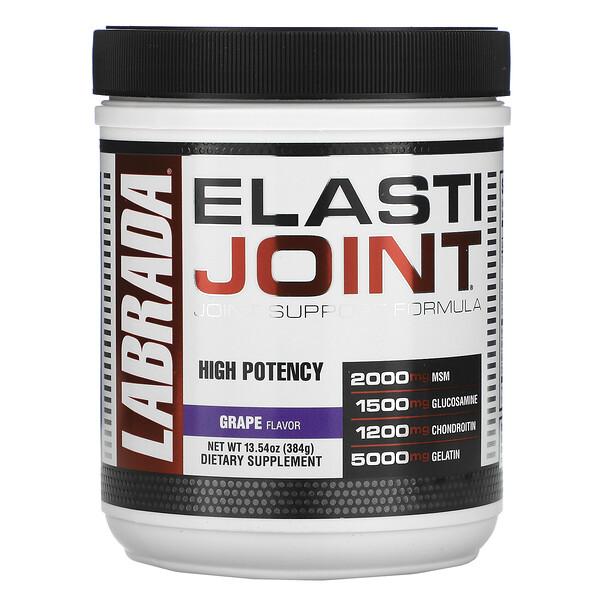 ElastiJoint, Joint Support Formula, Grape Flavor, 13.54 oz (384 g)
