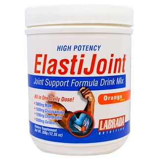 Labrada Nutrition, ElastiJoint, Orange Flavor, 12.35 oz (350 g)
