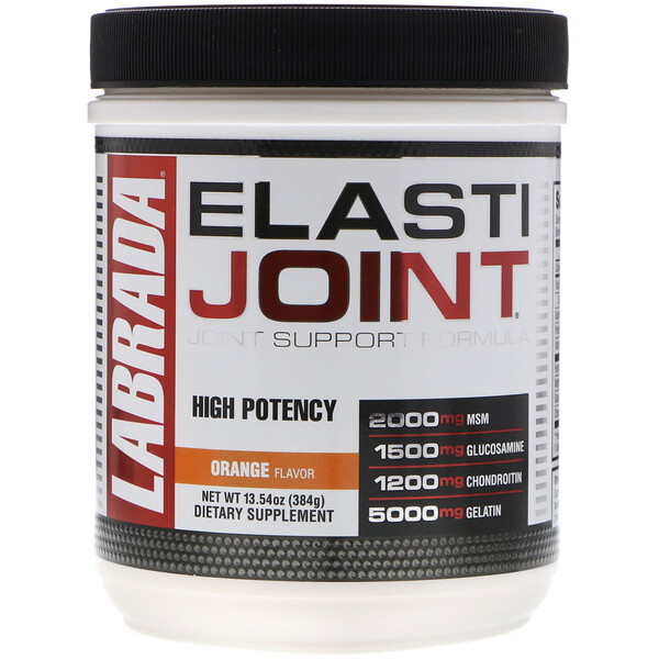 ElastiJoint, Joint Support Formula, Orange Flavor, 13.54 oz (384 g)