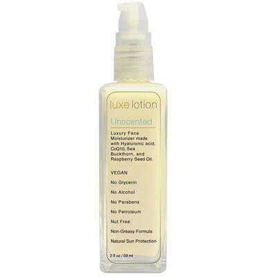 Купить LuxeBeauty Luxe Lotion, роскошное увлажняющее средство для лица, без запаха, 59 мл (2 жидк. унции)