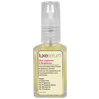 Luxe Beauty, Luxe Serum, Skin Lightener & Brightener, 1 fl oz (30 ml)