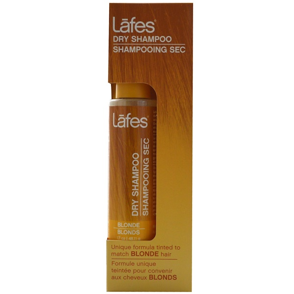 Lafe's Natural Body Care, Dry Shampoo, Blonde, 1.7 oz (48.11 g) (Discontinued Item)
