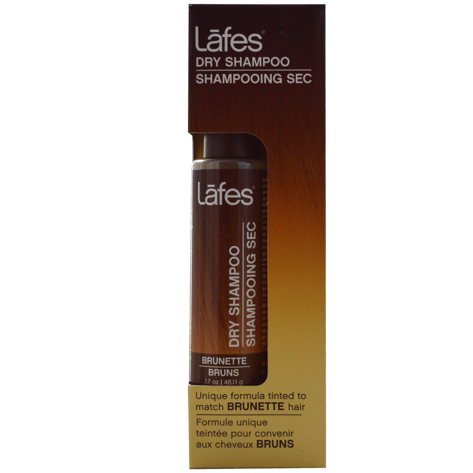 Lafe's Natural Body Care, Сухой шампунь, для темных волос, 48,11 г (1,7 унции)