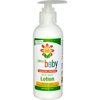 Lafe's Natural Body Care, Baby,  Natural Lotion, Fragrance-Free, 6 oz (177 ml)