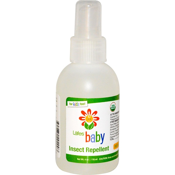 Lafe's Natural Bodycare, Baby, Insect Repellent, 4 oz (118 ml) (Discontinued Item)