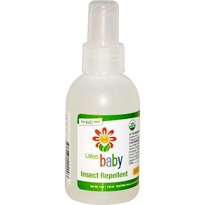 Лэйфс Нэчурал боди Кэр, Baby, Insect Repellent, 4 oz (118 ml) отзывы