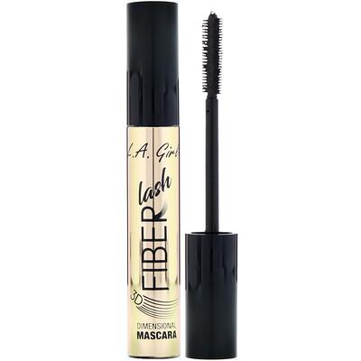 Купить L.A. Girl Тушь для ресниц Fiber Lash Mascara, оттенок Intense Black, 8мл