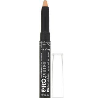 L.A. Girl, Pro HD Eyeshadow Primer, Nude, 0.07 oz (2 g)