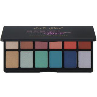 L.A. Girl, Wanderlust Eyeshadow Palette, 0.035 oz (1 g) Each