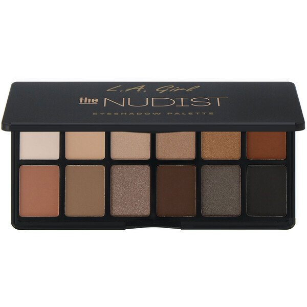 L.A. Girl, The Nudist Eyeshadow Palette, 0.035 oz (1 g) Each