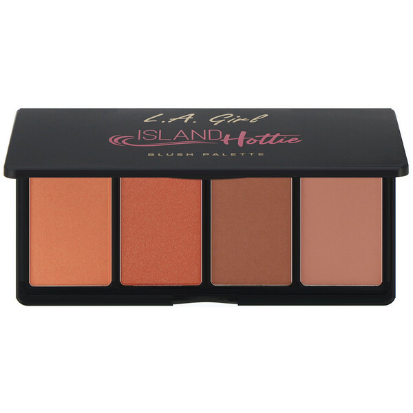 L.A. Girl, Island Hottie Blush Palette, 0.14 oz (4 g) Each