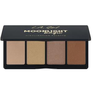 L.A. Girl, Moonlight Magic Highlighting Palette, 0.14 oz (4 g) Each отзывы покупателей