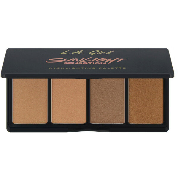 L.A. Girl, Sunlight Sensation Highlighting Palette, 0.14 oz (4 g) Each (Discontinued Item)
