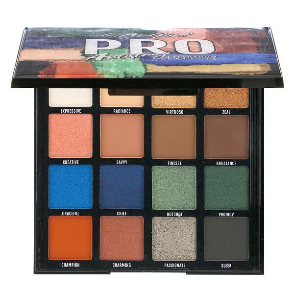 L.A. Girl, Pro Eyeshadow Palette, Artistry, 1.23 oz (35 g)