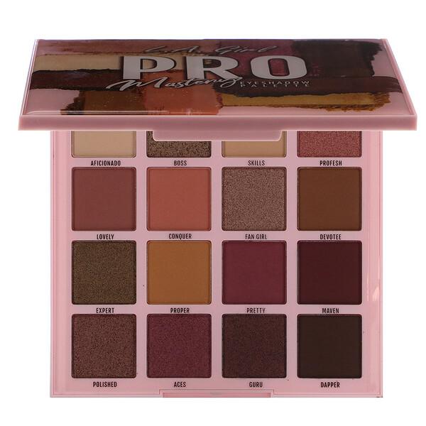 Pro Eyeshadow Palette, Mastery, 1.23 oz (35 g)