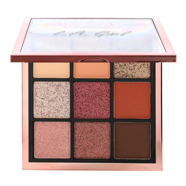 L.A. Girl, Keep It Playful Eye Palette, Playmate, 0.49 oz (14 g)