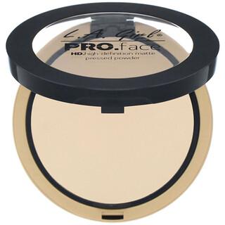 L.A. Girl, Pro Face HD Matte Pressed Powder, Classic Ivory, 0.25 oz (7 g)