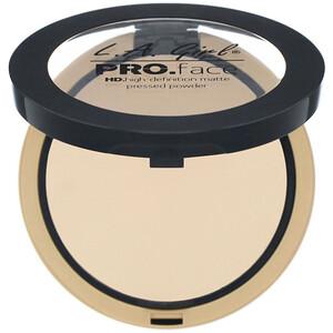L.A. Girl, Pro Face HD Matte Pressed Powder, Classic Ivory, 0.25 oz (7 g) отзывы покупателей