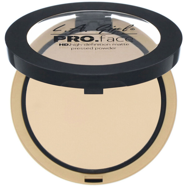 Pro Face HD Matte Pressed Powder, Nude Beige, 0.25 oz (7 g)