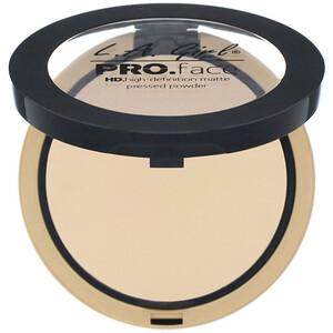 L.A. Girl, Pro Face HD Matte Pressed Powder, Nude Beige, 0.25 oz (7 g) отзывы