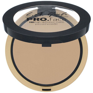 L.A. Girl, Pro Face HD Matte Pressed Powder, Medium Beige, 0.25 oz (7 g) отзывы покупателей