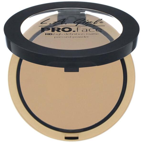 Pro Face HD Matte Pressed Powder, True Bronze, 0.25 oz (7 g)