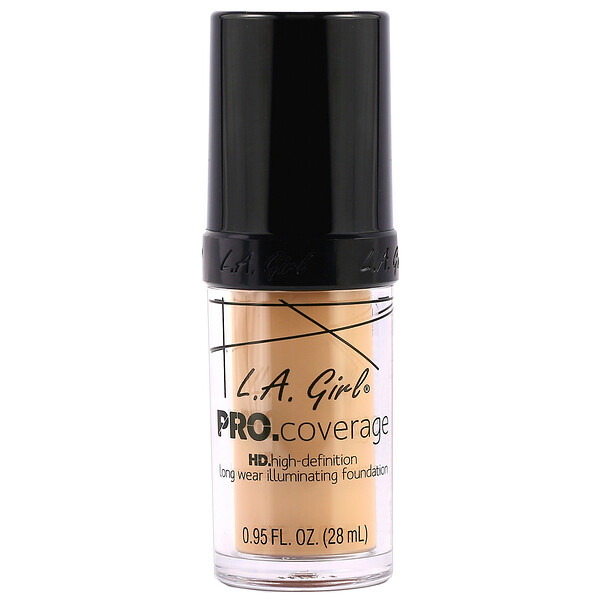 Base Pro Coverage HD, Natural, 28 ml (0,95 oz. líq.)