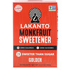 Lakanto, Monkfruit Sweetener, Golden, 30 Packets