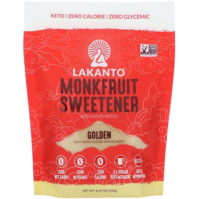 Lakanto Monkfruit Sweetener with Erythritol, Golden, 8.29 oz (235 g)