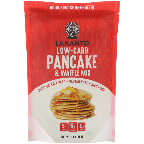 Lakanto, Low-Carb Pancake & Waffle Mix, 1 lb (454 g) (Discontinued Item)