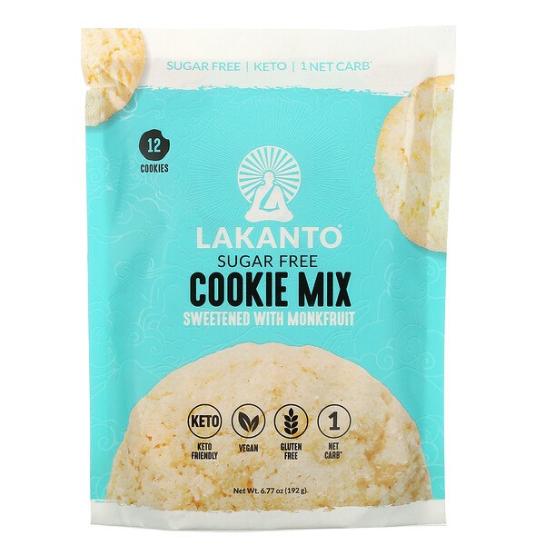 Cookie Mix, Sugar Free, 6.77 oz (192 g)