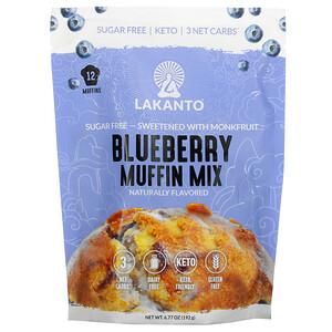 Lakanto, Blueberry Muffin Mix, 6.77 oz (192 g)