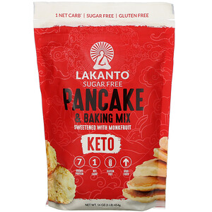 Lakanto, Pancake and Baking Mix, 1 lb (454 g)