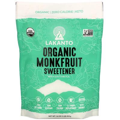 Lakanto Organic Monkfruit Sweetener, 16 oz (454 g)