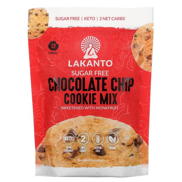 Chocolate Chip Cookie Mix, Sugar Free, 6.77 oz (192 g)