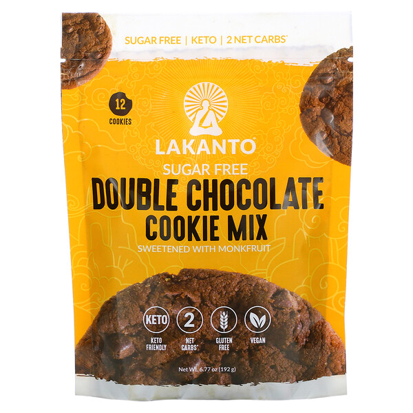 Double Chocolate Cookie Mix, 6.77 oz (192 g)
