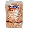 DeLallo, Fusilli No. 27, 100% Organic Whole Wheat Pasta, 16 oz (454 g)