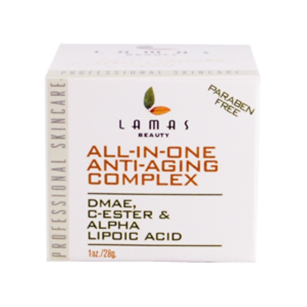 Lamas Botanicals, All-In-One, Anti-Aging Complex, 1 oz (28 g) (Discontinued Item)