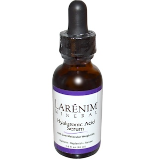 Larenim, Hyaluronic Acid Serum, 1 fl oz (30 ml)