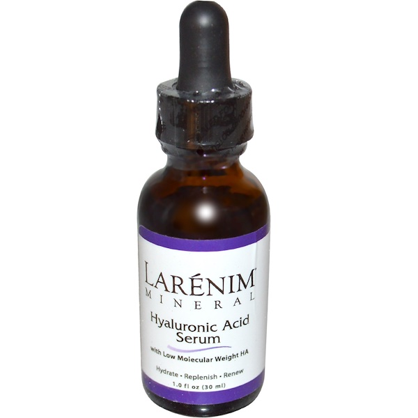 Larenim, Сыворотка с гиалуроновой кислотой, 1 жидкая унция (30 мл) (Discontinued Item)