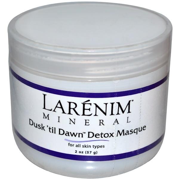 Larenim, Dusk 'til Dawn Detox Masque, For All Skin Types, 2 oz (57 g) (Discontinued Item)
