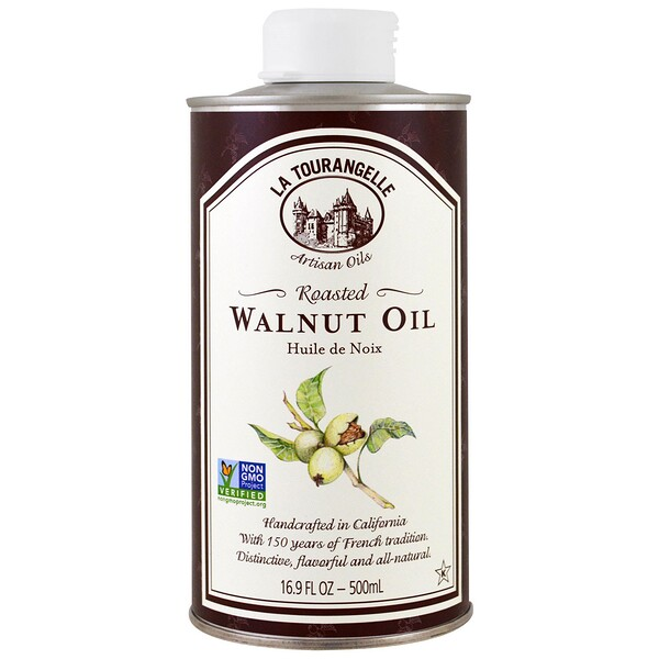 La Tourangelle, Roasted Walnut Oil, 16.9 fl oz (500 ml)
