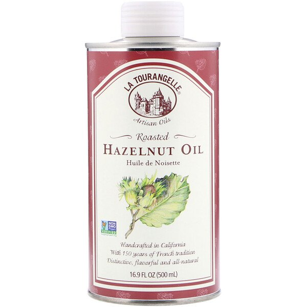 Roasted Hazelnut Oil, 16.9 fl oz (500 ml)