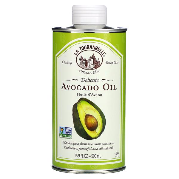 Delicate Avocado Oil, 16.9 fl oz (500 ml)